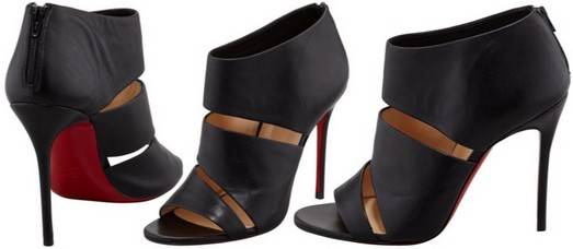 0bb9ef9e81f8 Christian Louboutin Cachottiere Cutout Red Sole Bootie – Dream Of A ...