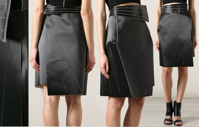 Issey Miyake Structured Origami Wrap Skirt Dream Of A Dress Blog