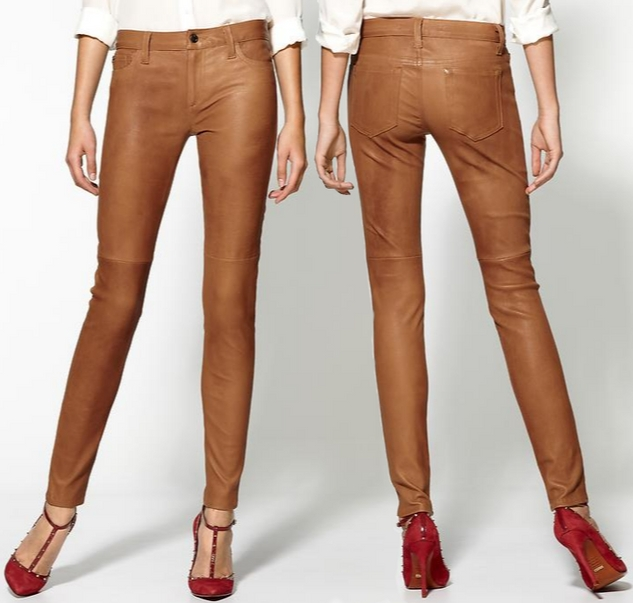 Buy Authentic choose original top-rated Joe's Jeans Camel Leather Pants – Dream Of A Dress Blog