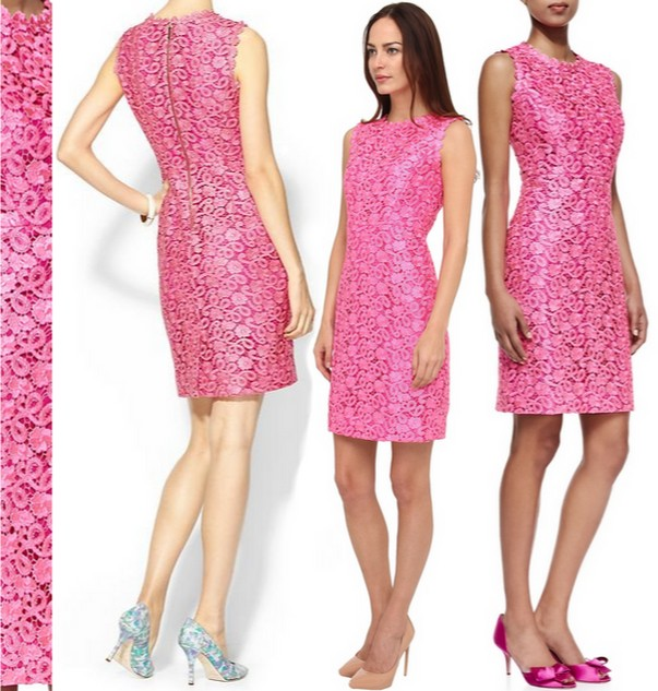 Kate Spade Pink Della Dress Dream Of A Blog
