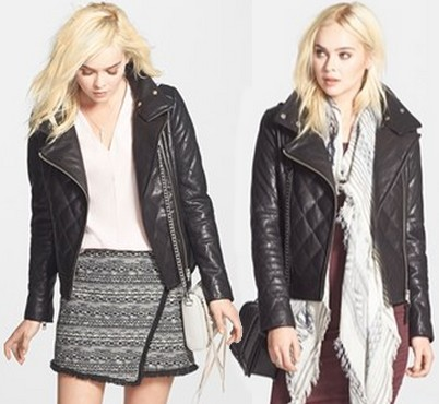 Mackage Quilted Leather Moto Jacket Dream Of A Dress Blog
