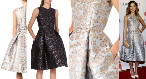 4ed388e94ad Mary Katrantzou JQ Astere Cookie-Jacquard Dress – Dream Of A Dress Blog