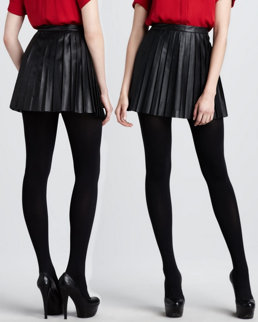 5826cd993b44 Theory Black Pleated Leather Mini Skirt – Dream Of A Dress Blog