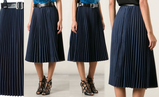 Toga Pleated Midi Skirt – Dream Of A Dress Blog
